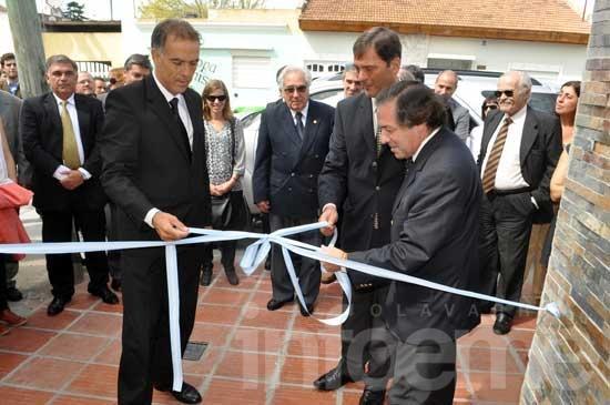 Se reinauguró la sede de la Asociación de Abogados