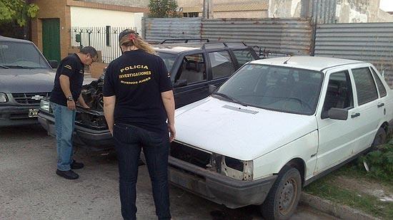 Secuestran en un taller un auto robado en Necochea
