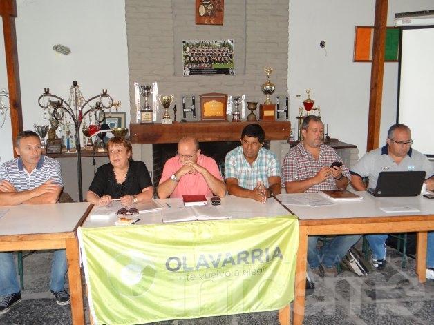 Por primera vez, sesionó la Federación en Olavarría