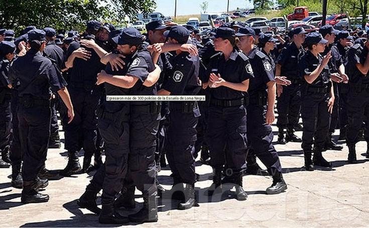 Asignan a policías recién egresados al Conurbano y hay preocupación