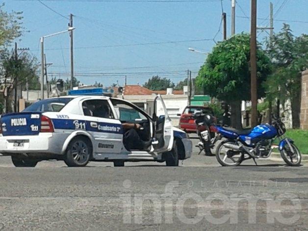 Un herido en choque entre dos motos