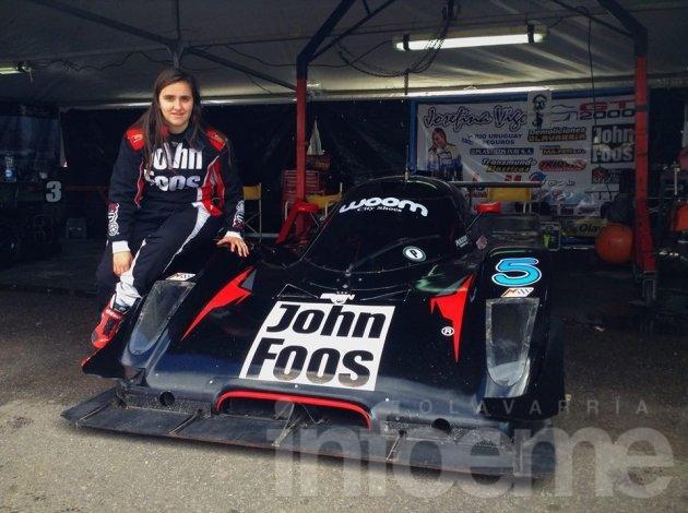 Josefina Vigo regresa a la actividad en el GT 2000