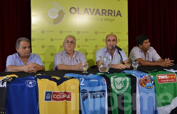 En un ameno clima, se lanzaron los torneos de la Liga de Fútbol