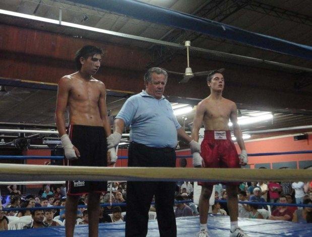 Gran marco en el Festival de Boxeo Profesional