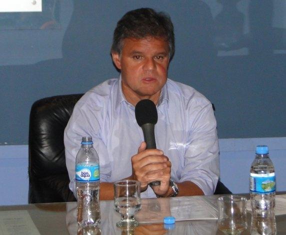 Enrique Sacco estuvo en Olavarría