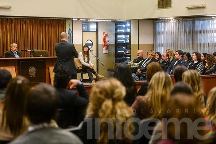 Se realiza el primer juicio por jurados en la Provincia