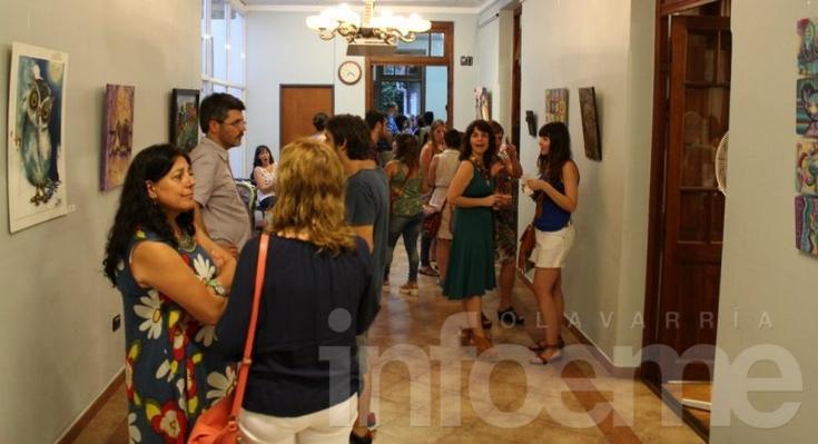 Dieciséis artistas mujeres exponen en La Higuera