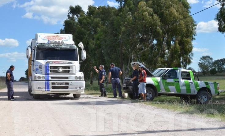 Detectaron un camión con más de 28 mil kilos de sobrecarga