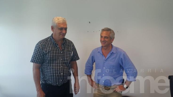 Eseverri se reunió con Guillermo Illia, precandidato de Pergamino