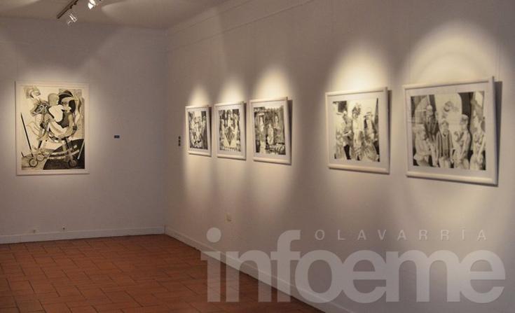 Una muestra de grabados y dibujos se exhibe en el Museo Dámaso Arce
