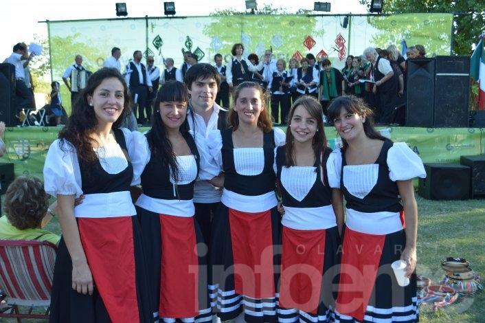 Los italianos tuvieron su fiesta en Loma Negra