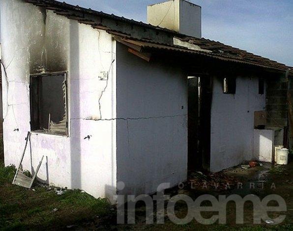 Firmarán convenio para reconstruir vivienda incendiada