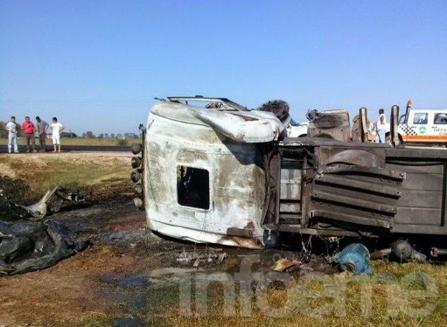 Camionero olavarriense murió en accidente en ruta 6