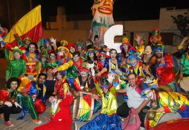 Carnavales en Barrio Cuarteles