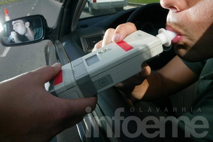 Alcoholemia positiva y licencia retenida, infracciones de domingo