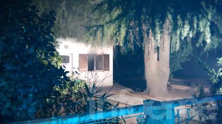 Pérdidas parciales en el incendio de una vivienda