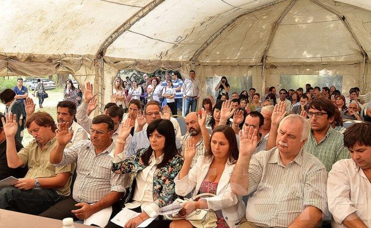 El Concejo Deliberante volvió a sesionar en Monte Peloni