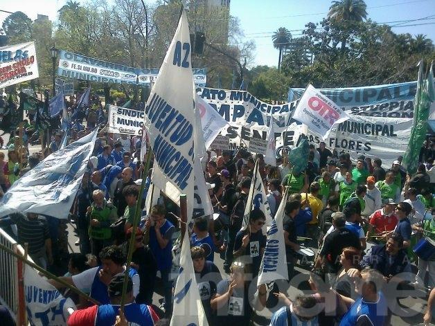 El sindicato de Municipales confirmó la adhesión al paro de la CGT