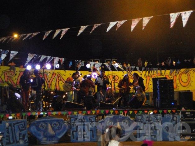 El Barrio Obrero tuvo su carnaval abajeño