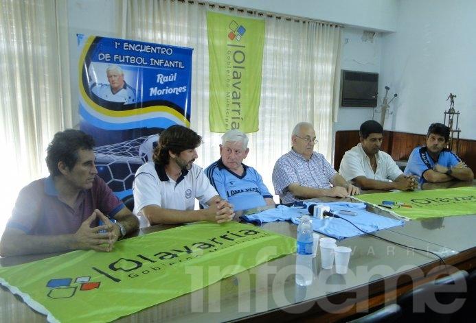 "Se presentó el Primer Encuentro de Fútbol Infantil ""Raúl Moriones"""