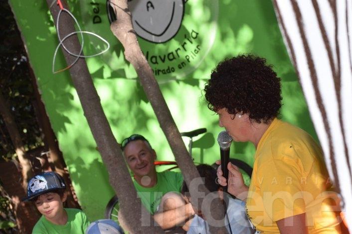 """Volvió """"Del otro lado del árbol"""" al parque Eseverri"""