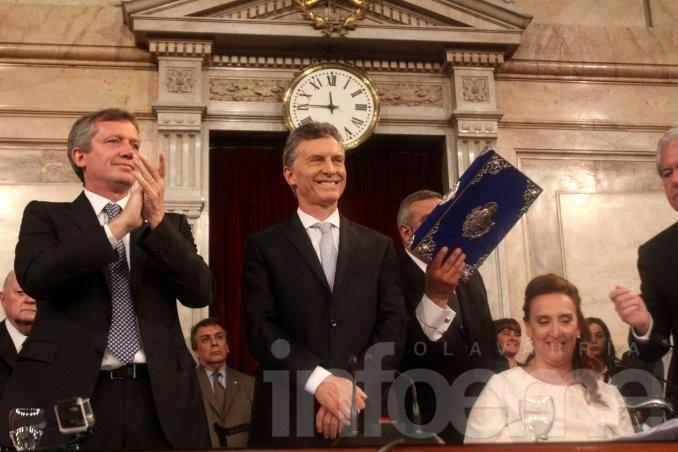 Macri inaugura el período de sesiones ordinarias