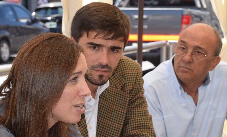 El intendente Ezequiel Galli en la apertura de sesiones de la gobernadora Vidal