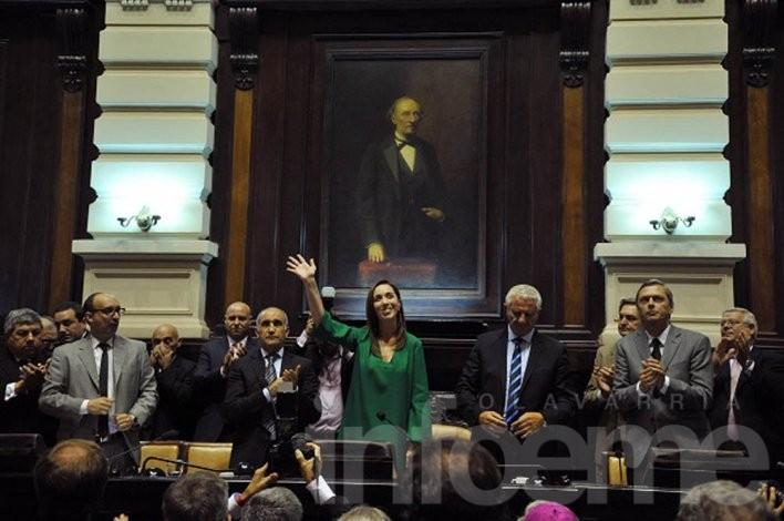 La opinión de los senadores locales sobre el discurso de María Eugenia Vidal