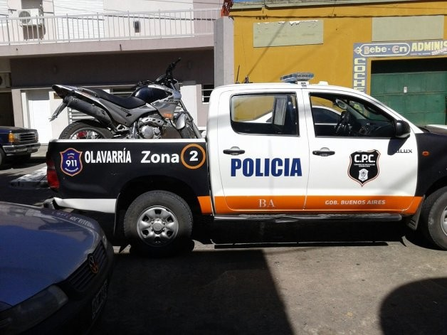 Recuperan moto robada y secuestran cuatro vehículos