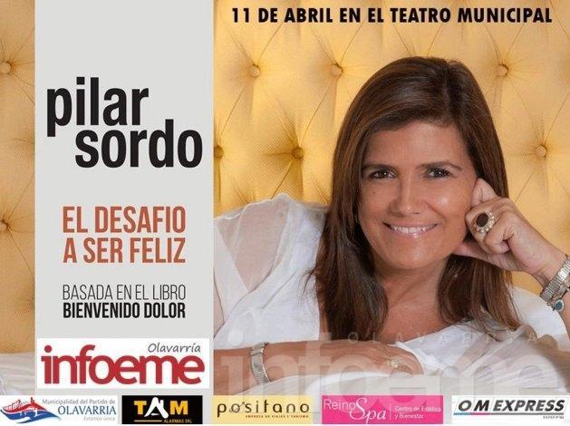Pilar Sordo: Se agotan las plateas y se venden las pullman