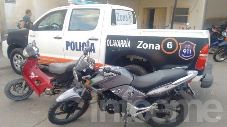Cuatro motos secuestradas y una persona demorada