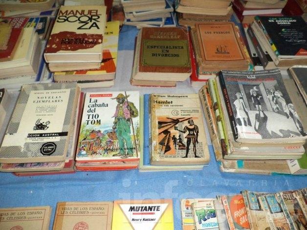 """Venta de libros usados en la Biblio """"1º de Mayo"""""""