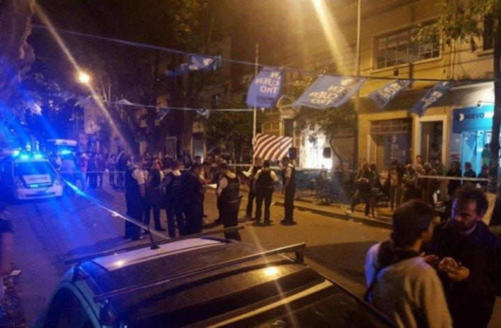 Atacan a tiros locales de Nuevo Encuentro y La Cámpora