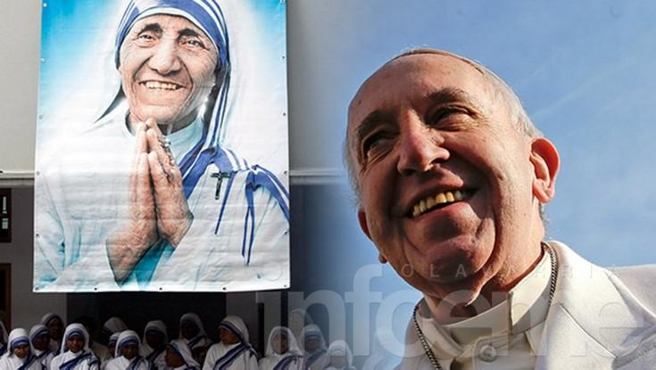 El Papa firmará la canonización de la Madre Teresa