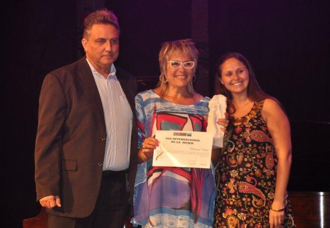 """Fabiana Bahl se quedó con el premio """"Dina Pontoni"""""""