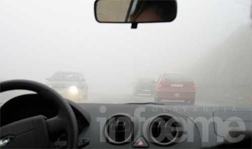 Extreman la precaución en la Ruta Nº 3 por niebla