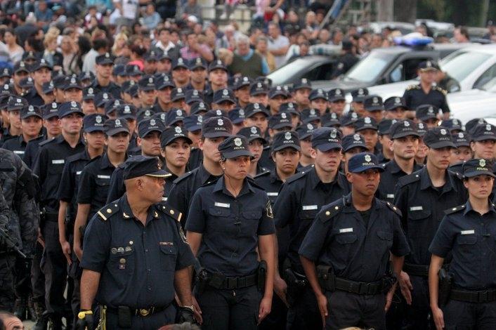 Aumentan los montos adicionales para los policías