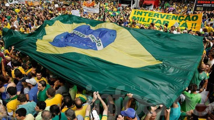 Brasil, un país que marcha contra la corrupción