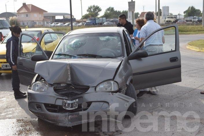 """Violento accidente en la rotonda de """"La Palmera"""""""