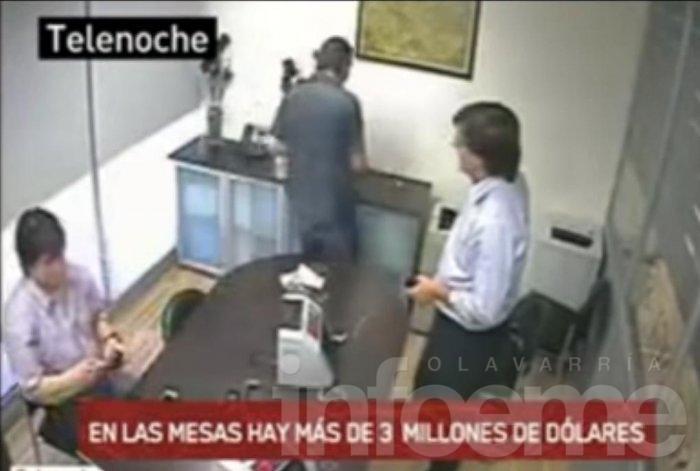 Video: nueva prueba en la ruta del dinero K