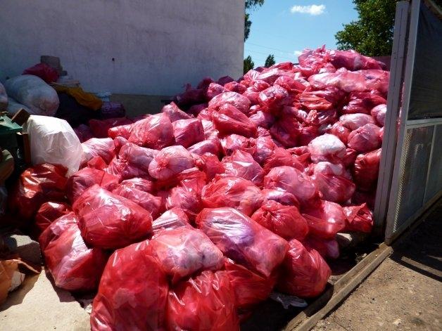 Capacitación para reducir la generación de residuos patogénicos