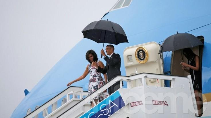 Histórica visita: Barack Obama ya está en Cuba