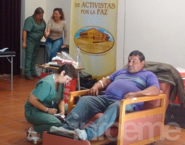 Se realizó  una nueva colecta externa de sangre de donantes voluntarios