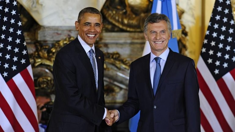 Obama y Macri se reunieron en Casa Rosada