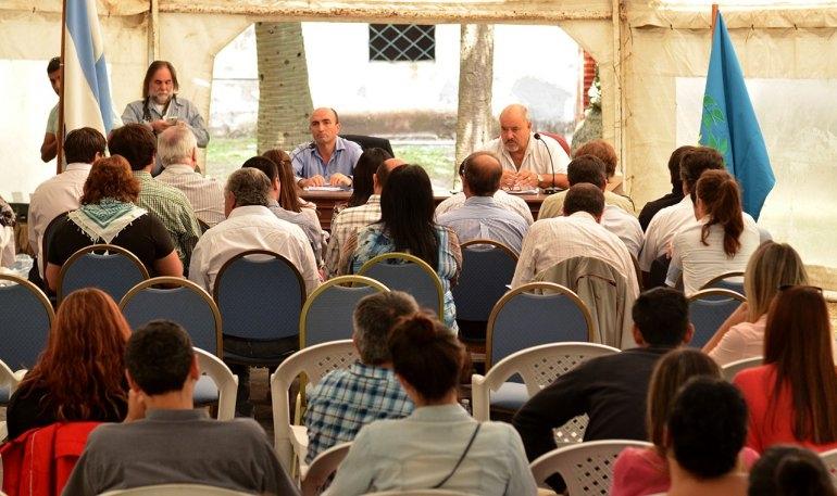Por tercer año, el HCD sesiona en Monte Peloni