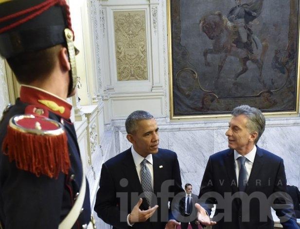 """Obama: """"Estados Unidos está listo para trabajar con la Argentina"""""""