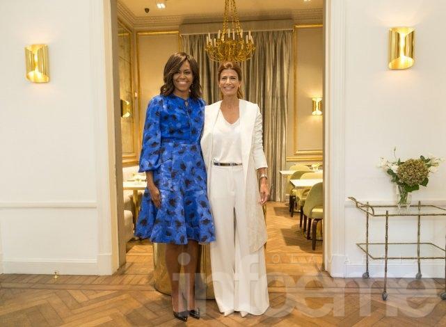 Con emocionante discurso, Michelle hizo llorar a Juliana Awada y a muchas otras mujeres  en Barracas