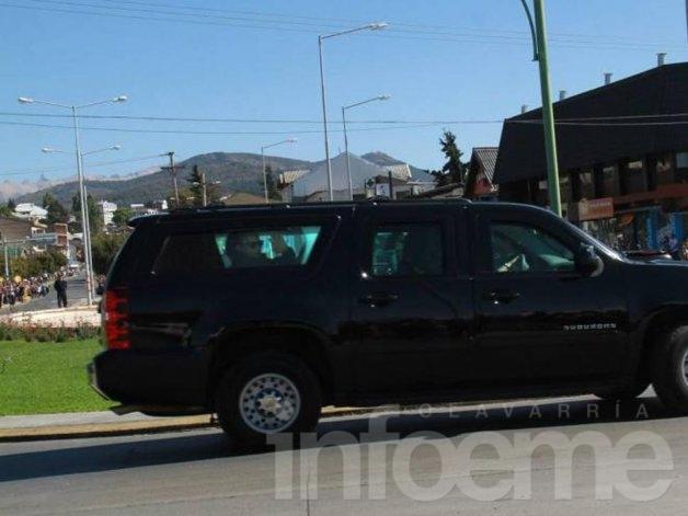 Obama disfruta la tarde en Bariloche