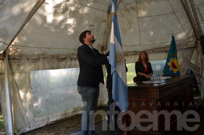 Galli participó de la sesión extraordinaria del HCD en Monte Peloni