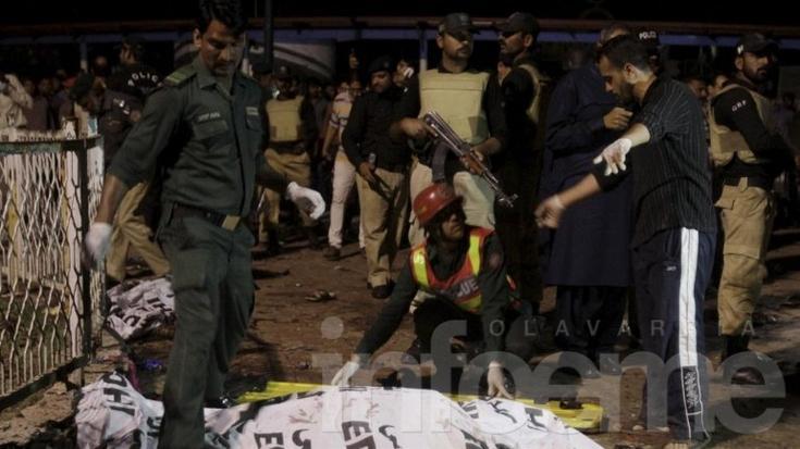 Al menos 65 muertos y 280 heridos en un atentado terrorista en Pakistán